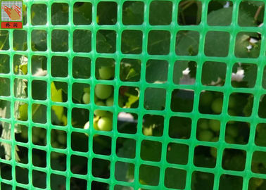 Green Plastic Garden Fence Mesh , 1m Height Garden Wire Netting Fence