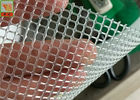 Cina PP Bahan Extruded Plastic Square Mesh 230 GSM Untuk Air / Liquid Filtration Distributor